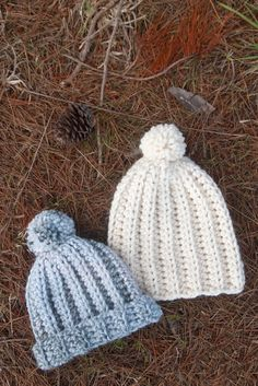 Ravelry: Arctic Ice Beanie pattern by Grace forthefrills Chunky Crochet Hat, Boho Crochet, Free Crochet, Crochet Hats, Beanie Pattern Free, Crochet Beanie Pattern, Free Pattern, Easy Crochet Projects, Easy Crochet Patterns