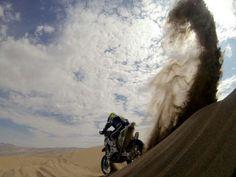 Dakar Motorcross in Peru