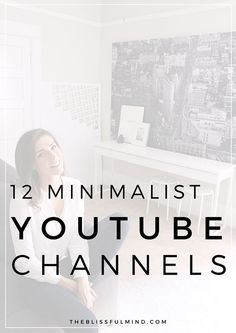 If you're wondering what minimalism is all about and need some inspiration to get started, here are 12 of the best minimalist YouTube channels that will inspire you to live lighter, consume less, and be more mindful! Minimalist YouTube Channels.
