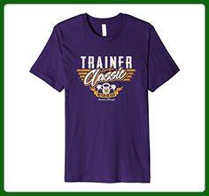 Mens TRAINER SPORTS CLASSIC DISTRESSED SHIRT Medium Purple - Sports shirts (*Amazon Partner-Link)