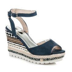 Dámske sandále ETNO 6103-11BL