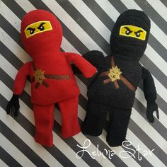 The best thing about all our Lego inspired items is that it won't hurt when you step on them! We have added new Lego inspired finger puppets, masks, crayon holders, stuffies, keychains and headbands to our site this week.  The finger puppets can easily be made into stick puppets for cake decoration for a Lego themed birthday party. The Lego Block Bag carries the finger puppets on their next adventure.    Be sure to follow us on Instagram - that's where you can see our daily posts f...