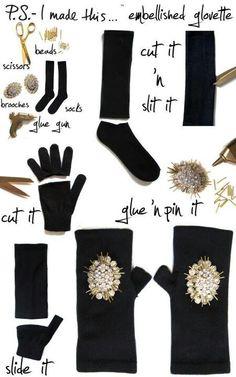 Embellished Glovette