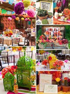 """Cinco de Mayo"" party favor ideas ""Daisy Delight"" Gerbera Daisy Favor Box (Bright Orange or Hot Pink) (Set of 24) Sale Price: $0.72 (15% off)"