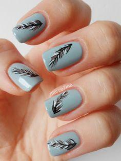Marce7ina's Nai7 Art: feather