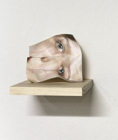 Joseph Parra Sculpture Head, Thing 1, Realistic Paintings, Assemblage, Best Face Products, Color Photography, Optical Illusions, Illustration Art, Illustrations