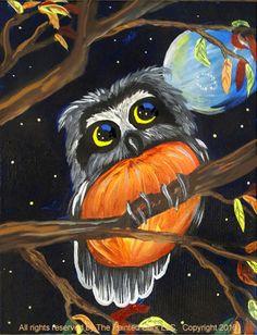 Autumn Night Owl