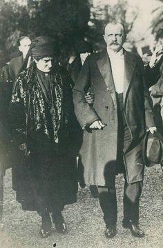 "Grand Duke Peter Nikolaevich Romanov of Russia and Grand Duchess Nikolaevna Romanova of Russia. ""AL"""