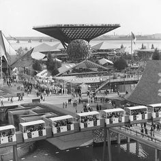 Canada pavilion is, without question, the largest pavilion at Expo 67