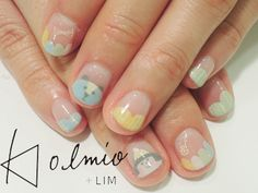 nail snap ◎ パステルフレンチ | 児島亜樹 | 16 APR. 2014 | LIM | LESS IS MORE