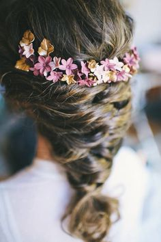 Elegant Hairstyles, Bride Hairstyles, Lace Hairpiece, Flower Headpiece, Hair Ornaments, Hair Art, Hair Looks, Hair Trends, Bridal Hair