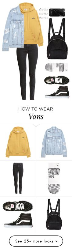 """Untitled #141"" by manerefortis on Polyvore featuring H&M, SJYP, Vans, STELLA McCARTNEY, Native Union and Miss Selfridge #tomboy_style_vans"
