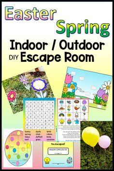 Easter Escape Room for Kids