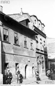 Ul.Józefa Kazimierz kwiecień 1936 r