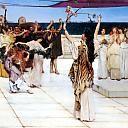 Lawrence Alma-Tadema - A Dedication to Bacchus