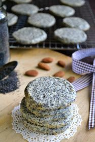 The view from Great Island: Almond Poppy Seed Butter Cookies