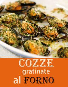 Le cozze gratinate al forno con la ricetta facile e veloce