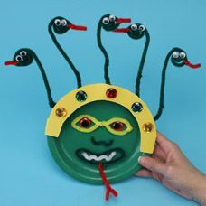 Medusa Arts and Crafts Project