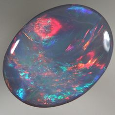 SOLID SEMI BLACK OPAL Bright and rich colour With VIDEO | AussieTreasureChest.com.au