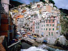RIOMAGGIORE Cinque Terre, Liguria, Italy