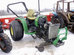 John Deere 4520 tractor salvaged for used parts. This unit is available at All States Ag Parts in Black Creek, WI. Call 877-530-2010 parts. Unit ID#: EQ-25425. The photo depicts the equipment in the condition it arrived at our salvage yard. Parts shown may or may not still be available. http://www.TractorPartsASAP.com