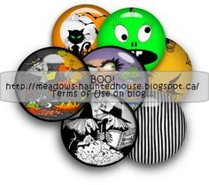 Meadows Haunted House: Halloween Buttons 2012 ready for download...