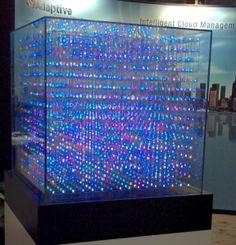 big led cube