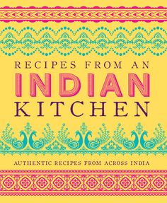 UK: RECIPES FROM AN INDIAN KITCHEN