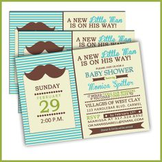 For boy baby shower...really cute