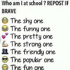 Comment what you think! ;D lol @Rory Liu Liu Mollo @Kayla Barkett Barkett Depaulo @Grace Lane  COMMENT PLEASE!!! I wanna know what I'm like! You can comment more that one