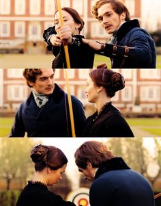 Queen Victoria (Emily Blunt) and Prince Albert (Rubert Friend) in The Young Victoria Queen Victoria Prince Albert, Victoria And Albert, Jane Austen, Movies Showing, Movies And Tv Shows, Jena, The Young Victoria, Rupert Friend, Reine Victoria