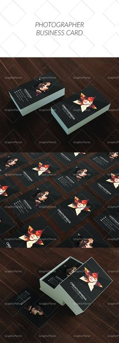 Photographer Business Card Photographer Business Cards, Movie Posters, Film Poster, Billboard, Film Posters