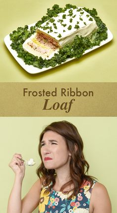 "First, we tried this ""Frosted Ribbon Loaf."""