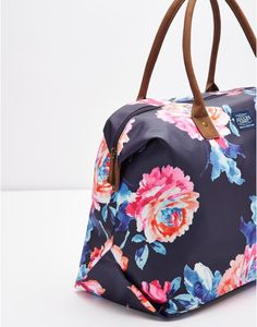 KEMBRYPrinted Canvas Overnight Bag