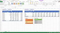 Excel - Comment Consolider des Classeurs avec l'outil TCD