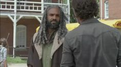 King Ezekiel and Rick