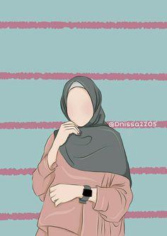 I love hijab and chador Cartoon Girl Drawing, Girl Cartoon, Book Cover Background, Cover Wattpad, Hijab Drawing, Islamic Cartoon, Hijab Cartoon, Islamic Girl, Bear Wallpaper