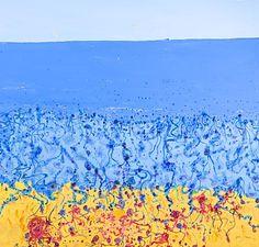 Popping Bluebottles, John Olsen