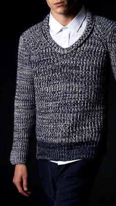 Men's Gray Casual  V-Neck Sweater | Men's Fashion & Style | Shop Menswear, Men's Clothes, Men's Apparel & Accessories at designerclothingfans.com