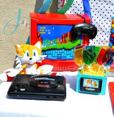 Sonic the Hedgehog Birthday Party Ideas   Photo 28 of 36   Catch My Party