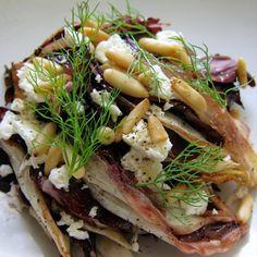 Pine Nut Recipes, Cheesesteak, Feta, Roast, Lunch, Vegetables, Healthy, Ethnic Recipes, Gourmet