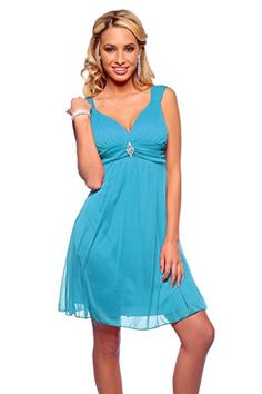 Womens Formal Chiffon V Neck Wide Sleeveless Strap Empire Waist Party Mini Dress Hot from Hollywood http://www.amazon.com/dp/B00GXEVYHA/ref=cm_sw_r_pi_dp_rDgIwb0QP4FPT