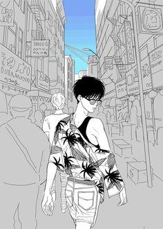 Manga Art, Anime Art, Akira Anime, Fish Wallpaper, Animes Wallpapers, Fish Art, Character Drawing, Fandom, Anime Guys