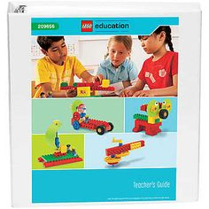 Lego early simple machines III Activity pack - also there's a teacher's manual