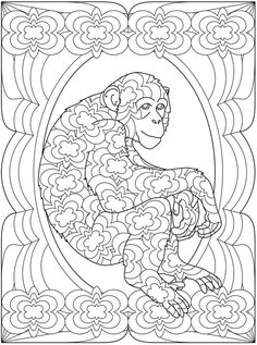 dover coloring pages printable | Found on doverpublications.com