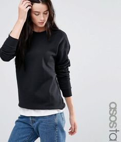 Browse online for the newest ASOS TALL The Ultimate Boyfriend Sweat styles. Shop easier with ASOS' multiple payments and return options (Ts&Cs apply). Casual Wear Women, Women's Casual, Big And Tall Outfits, Clothing For Tall Women, Shoes Too Big, Tall Guys, Basic Tops, Clothing Items, Fashion Online