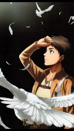 Such beautiful Eren art! This looks official | Eren Jaeger | SnK