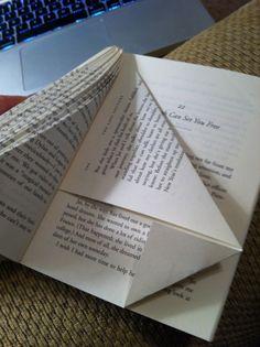 Repurposed Books: Christmas Tree Craft Tutorial | MotifBrophy