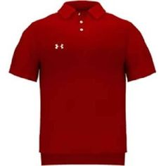 Men's UA Performance Shortsleeve Team Golf Polo Tops by Under Armour