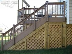 this old house tommy replaces lattice under porch - Google Search